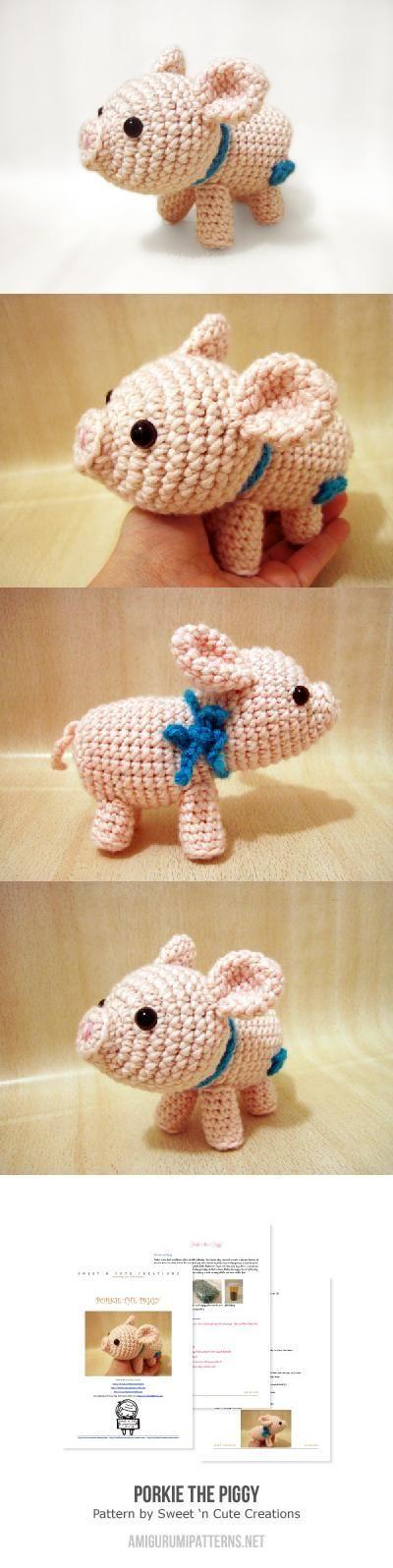 Porkie the Piggy - Amigurumi.com