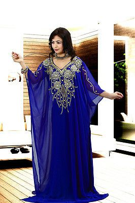 Eid  SPECIAL Dubai Style kaftan farasha Jalabiya maxi dress abaya ** SALE