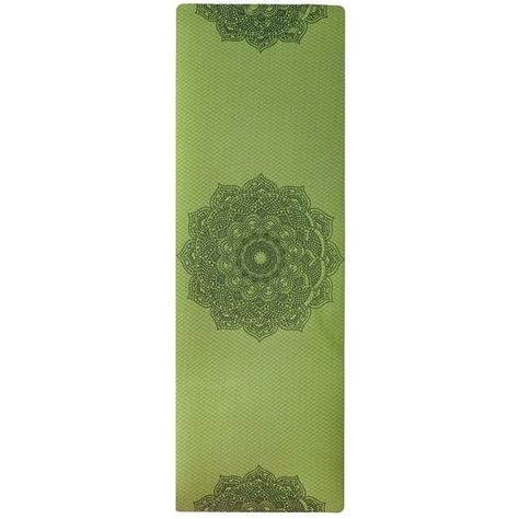 Non-slip Mat For Yoga, Pilates, Gym  and Exercise - Green / United States