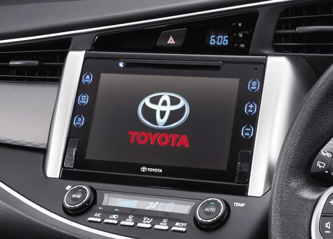 all new kijang innova tipe v toyota yaris ts trd multimedia system