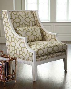 White Framed Chair Living Room Pinterest