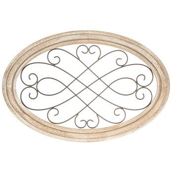 Oval Scroll Metal Wall Decor Hobby Lobby 1644251 Metal Walls Metal Wall Decor Black Wall Clock