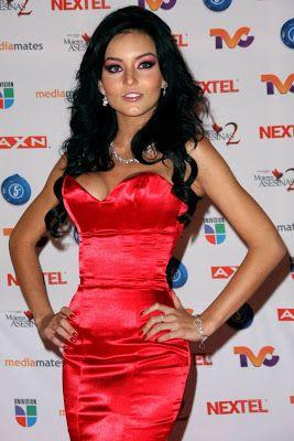 Angelique Boyer Measurements Celebridades Femininas