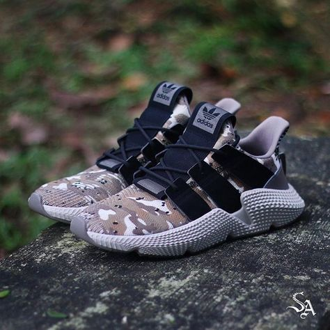 The Adidas Prophere in a black camo mashup is here! Get