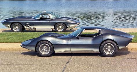 1961 Mako Shark I & 1965 Mako Skark II