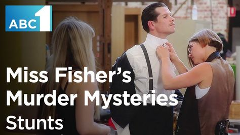 Have you ever wondered how the stunts in Miss Fisher's Murder Mysteries are performed? Find out in this exclusive behind-the-scenes clip. #MissFisher #behindthescenes #stunts