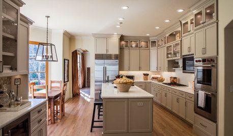 Kitchen Of The Week On Houzz Kitchen Design Trends Small Kitchen Redo Kitchen