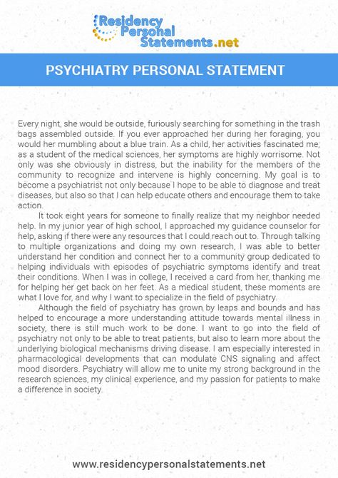 Residency Personal Statements Samples (residencypersonal) on Pinterest - personal statement residency