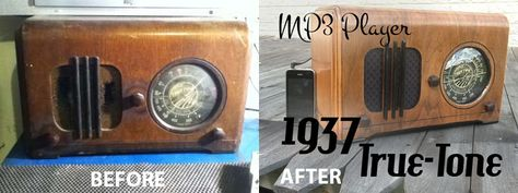 Don't throw out that old wooden radio. Upcycle it with an MP3 upgrade and refinish it with the help of Woodcraft! This project courtesy of MDWoodart.com. http://bit.ly/1gnOa83