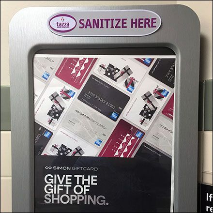 Gift Of Shopping Hand Sanitizer Advertising Hand Sanitizer