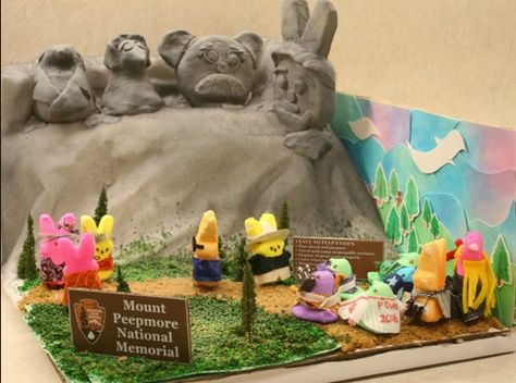 The Washington Post's sixth annual Peeps Diorama Contest sugarcoated with political satire and pop culture.