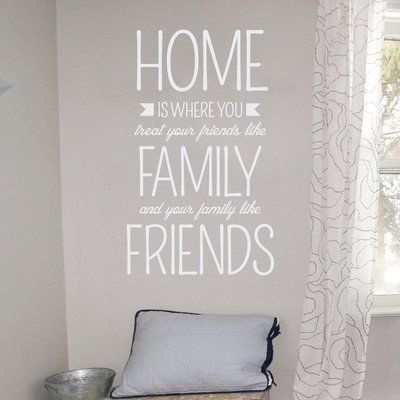 Wallums Wall Decor Home Is Where Wall Decal Color White Wall
