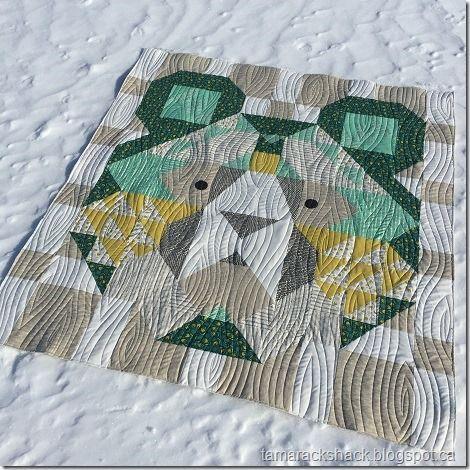 Big Sky Bear Tamarack Shack Bear Quilts Machine Quilting Patterns Quilting Designs