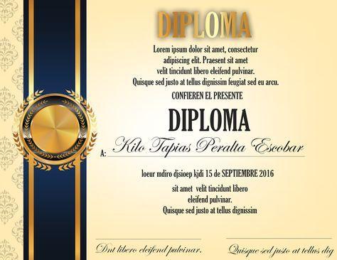 Lindo Diploma Diseño De Diplomas Formatos De Diplomas Diplomas Para Maestras