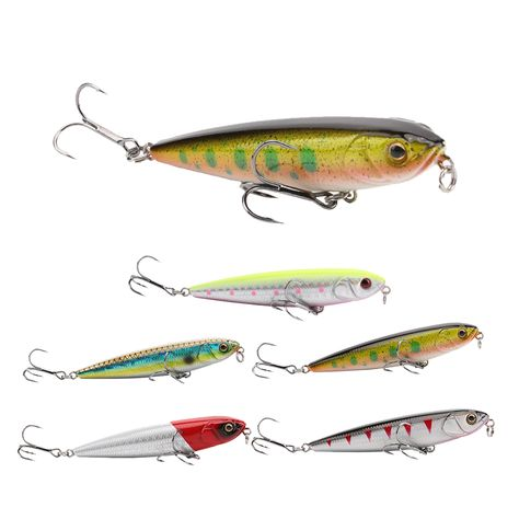 fishing lures minnow artificial hard bait floating wobblers with 3d eye Nice DE