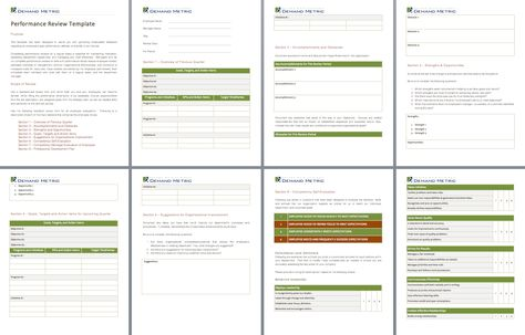 14 best Performance Management images on Pinterest Templates - employee review template