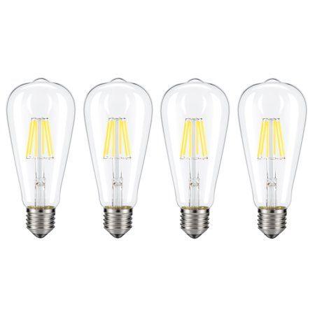 Household Essentials Led Bulb Light Bulb Filament Lighting