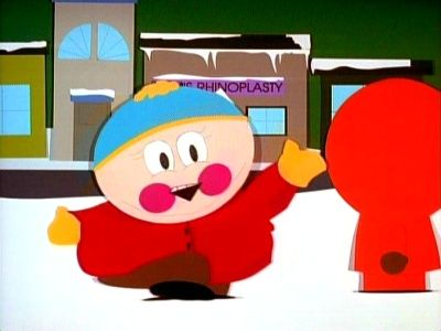 Weird Expressions on South Park Characters