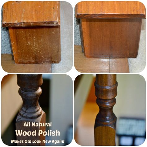 Make The Old Look New With This Homemade Furniture Polish Green