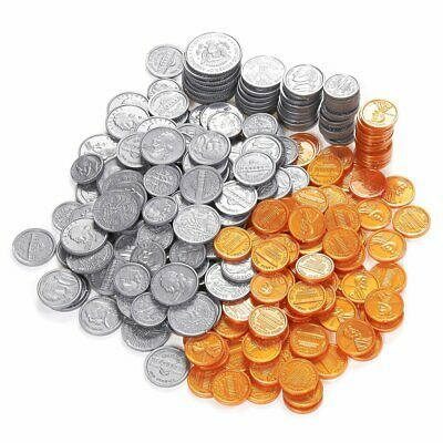Ad Pack Of 250 Play Coin Set Includes 10 Half Dollars 40 Quarters 50 Dimes 50 In 2020 Penny Coin Coin Set Half Dollar