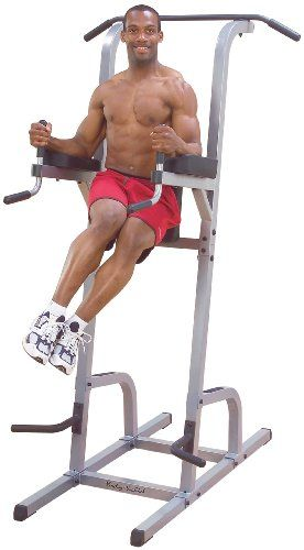 Details about  /440lb Dip Bar Station Dip Stand Machine Fitness Exercise Home Gym Pull Up Tricep