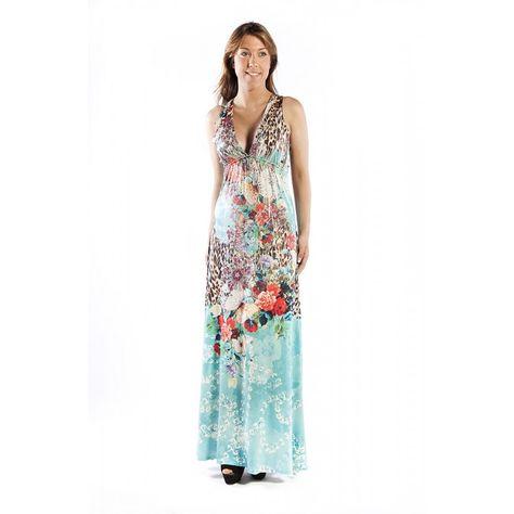 ¿Buscas un #vestido #largo y veraniego? Este de Party 21, con un leve toque #animalprint, seguro que te convence ;)