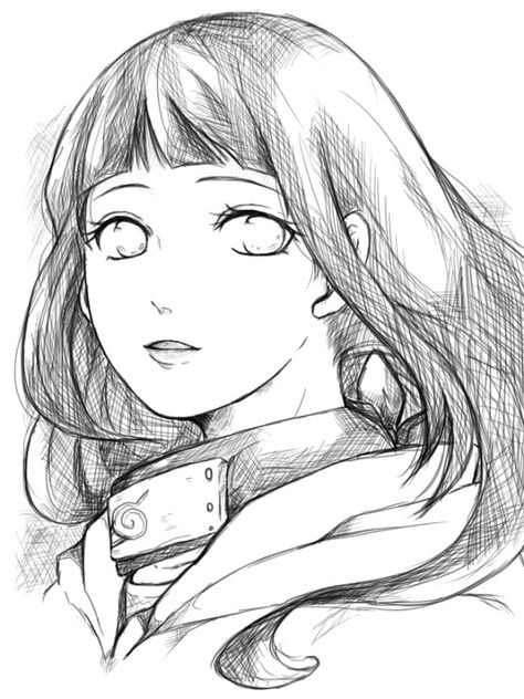 Hinata Hyuga - #Naruto