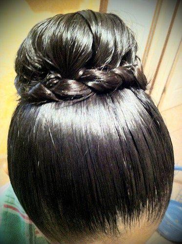 Classic Hair Bun Indian Braided Hair Flickr Slick Hairstyles Big Bun Hair Bun Hairstyles