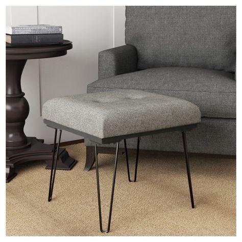 Groovy Elegantly Modern The Lemoor Mid Century Ottoman With Spiritservingveterans Wood Chair Design Ideas Spiritservingveteransorg