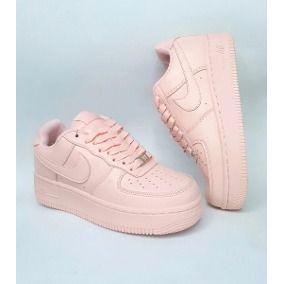 tenis nike air force mujer rosas