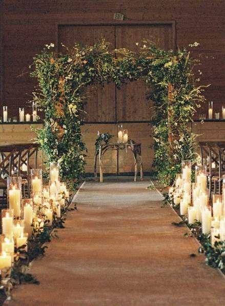 16 Ideas Wedding Church Aisle Candles Ceremony Decorations