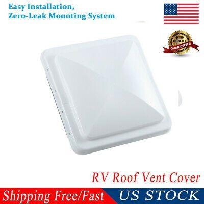 Sponsored Ebay New 14 X14 Universal Trailer Rv Roof Vent Cover Camper Rv Trailer Motorhome Lid In 2020 Roof Vent Covers Vent Covers Roof Vents