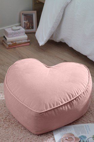 Pin By Olamiszczak On Party And Festivals Childrens Bed Linen Velvet Heart Bean Bag Chair
