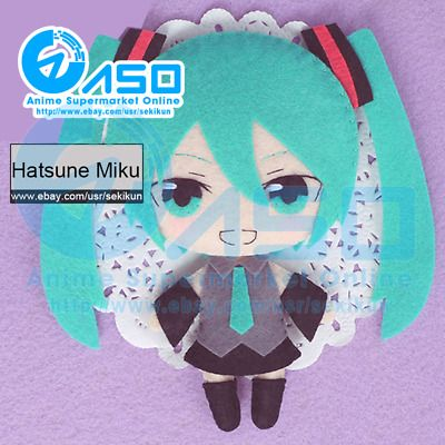 Find Many Great New Used Options And Get The Best Deals For Anime Vocaloid Hatsune Miku Diy Handmade Toy Keychain Diy Handmade Toys Anime Crafts Plush Dolls