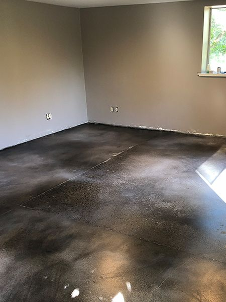 Color Mist One Gallon Stained Concrete Polished Concrete Flooring Concrete Stained Floors