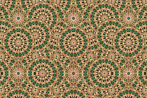 Modern Geometric Boho Seamless Pattern