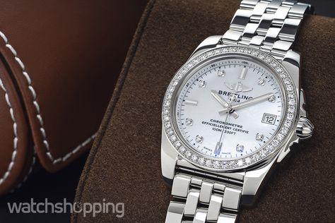BREITLING Breitling Watch Galactic 36 SleekT Pearl Diamond