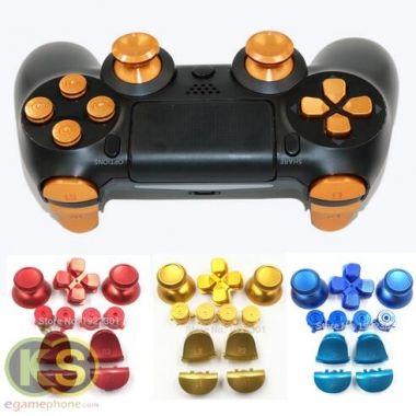 Customs ps4 controller Metal Bullet Buttons thumbstick cap