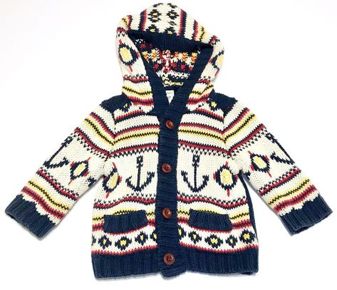 a84d389fcc1b Details about Old Navy Baby Boy 6-12 Mo Sweater Cardigan 100% Cotton ...