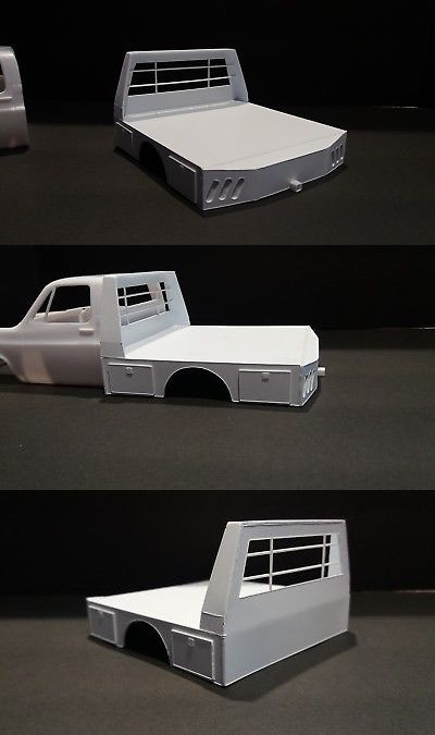 Model Flat Bed Ultility Truck Body I 1 24 1 25 Scale Model Diorama Ebay Plastic Model Kits Cars Plastic Model Cars Model Cars Building