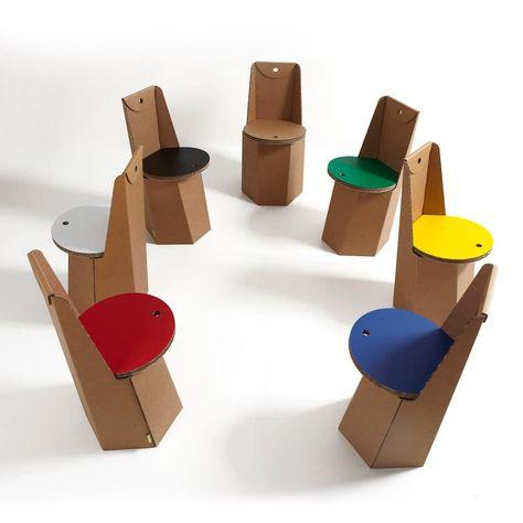 Sedie In Cartone Design.Sedie Di Cartone Per Un Design Sostenibile Design Sostenibile
