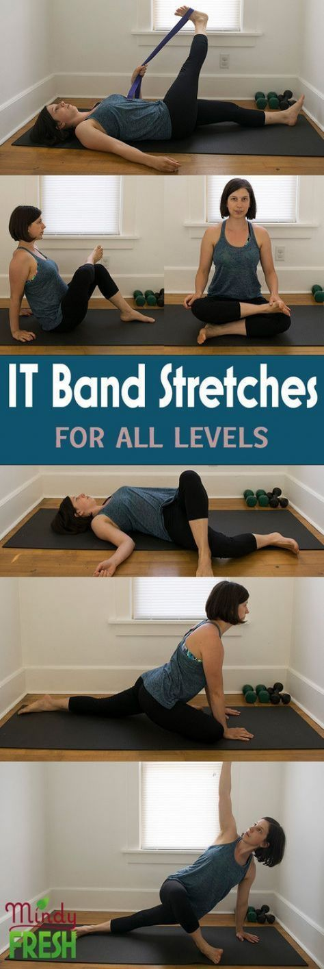 IT band stretches #HipFlexor