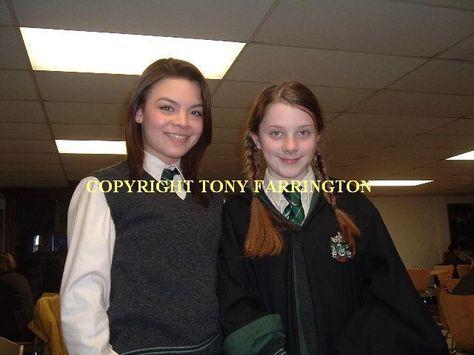 Saski Farrington With Pansy Parkinson Scarlett Byrne Harry Potter Photo Cou Scarlett Byrne Pansy Parkinson Scarlett