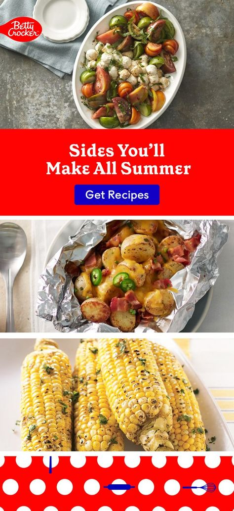 Our Sides You'll Make All Summer salad ideas range from healthy options to BBQ favorites. Pin today for endless inspiration.