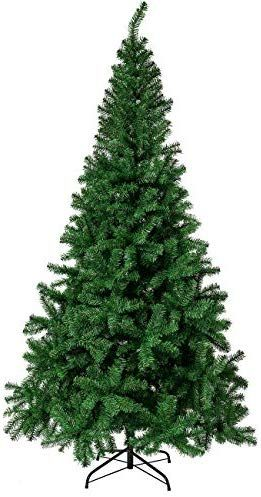 Sunnyglade 7 5 Ft Premium Artificial Christmas Tree 1400 Tips Full Tree Easy To Assemble With Christmas Tree Sta Christmas Tree Christmas Tree Stand Tree Stand