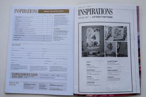 Inspirations - Embroidery Magazine from Australia, Issue#107