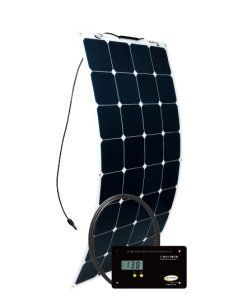Go Power 100 Watt Flexible Solar Panel Https Portablepowers Review Go Power 100 Watt Flexible Solar Panel Solar Kit Solar Panels Flexible Solar Panels