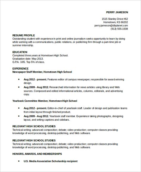 Sample Resume Profile Example Examples Bfecf Nice Personal  Home