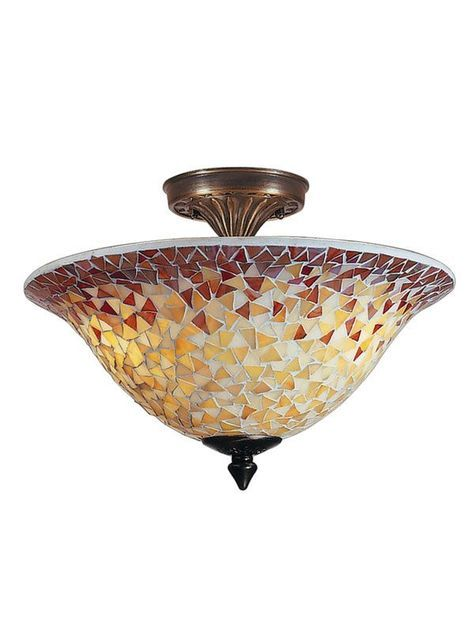 Cidy Mosaic Flush Mount