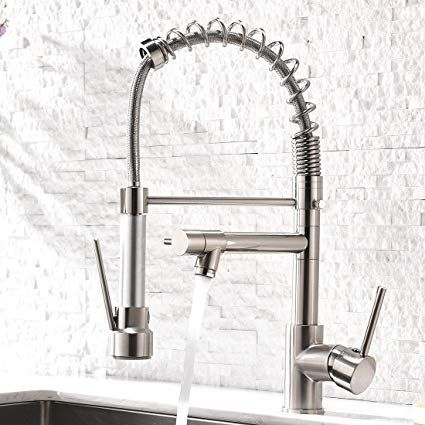 Aimadi Contemporary Kitchen Sink Faucet Single Handle Stainless